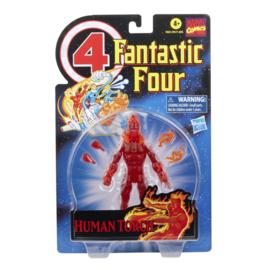 Marvel Legends Fantastic 4 Retro Human Torch - Pre order