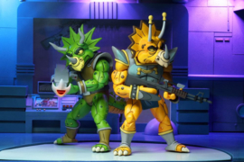 NECA TMNT AF 2-Pack Captain Zarax & Zork
