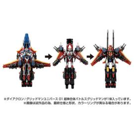 Takara Diaclone Gridman Universe 01 BattlesGridman - Pre order