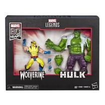 Marvel Legends Wolverine & Hulk