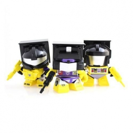 Hasbro Yellow Constructicon Action Vinyl Figures 3 Pack