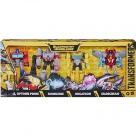 Hasbro Buzzworthy Bumblebee Warrior Class 4-Pack