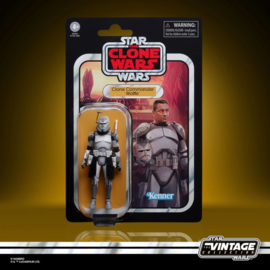 Star Wars Vintage Collection AF Clone Commander Wolffe [The Clone Wars]
