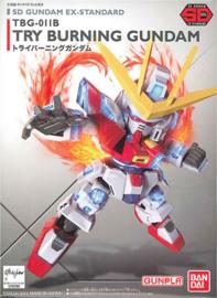 SD Ex-Std: TBG-011B Try Burning Gundam