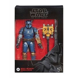 Star Wars The Mandalorian Black Series AF Heavy Infantry Mandalorian