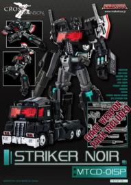 Maketoys MTCD-01SP Striker Noir