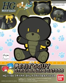 Petit'gguy Stray Black & Cat Cos