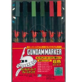 Gundam Marker GMS-108 Zeon Set