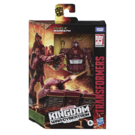 Hasbro WFC Kingdom Deluxe Warpath