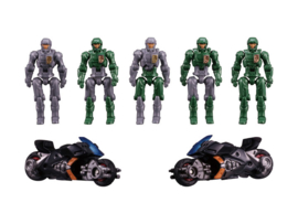 Takara Diaclone Reboot DA-18 BIG POWERED GV DIA-NAUTS SET