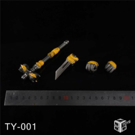 86Toys TY-001 Kit for 3A DLX Bumblebee