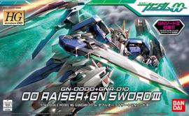 1/144 HG00 GN-0000+GNR-010 00 Raiser + GN Sword III
