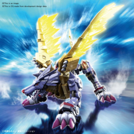 Figure-rise Digimon Metal Garurumon Amplified - Pre order