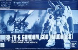 P-Bandai: 1/144 HG RX-78-6 Gundam G06 [Mudrock]