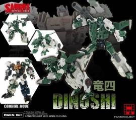 Fansproject Saurus Ryu-Oh Dinoshi
