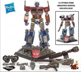 Hot Toys Asia Exclusive Transformers TF002 Optimus Prime Megatron Version