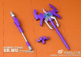 Dr. Wu DW-P30 Power of Titans Solid Version