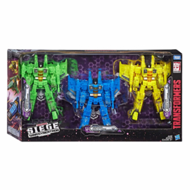 Hasbro WFC Siege Rainmakers set of 3