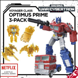 Hasbro Netflix Siege of Cybertron Voyager Optimus Prime - Pre order