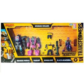 Hasbro Buzzworthy Bumblebee Worlds Collide