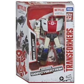 Hasbro Netflix Siege of Cybertron Deluxe Red Alert