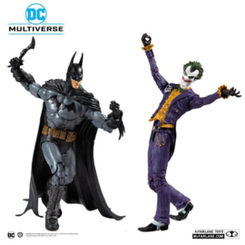Mc Farlane Toys AF Collector Multipack Arkham Asylum Batman vs Joker