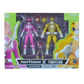 Hasbro Power Rangers LC X TMNT 2-Pack Morphed April O'Neil and Morphed Michelangelo - Pre order