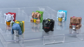 Takara Legends LG-EX Headmaster set of 6