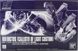 P-Bandai: 1/144 HG Dictus (Callisto of Light Custom)