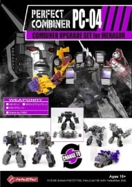 Perfect Effect PC-04 Upgrade set  Menasor