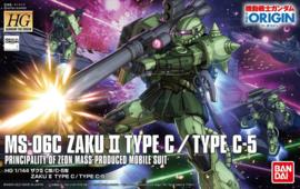 1/144 HGGTO MS-06C Zaku II Type C/Type C-5