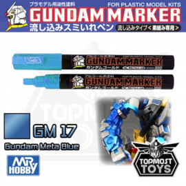 Gundam Marker GM-17 Metallic Blue Marker