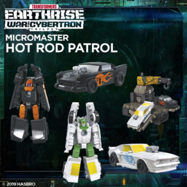 Transformers Earthrise Micromasters Hot Rod Patrol