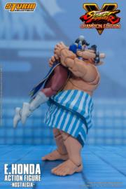 Street Fighter V Champion Edition Action Figure 1/12 E. Honda Nostalgia Costume - Pre order