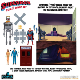 Mezco Superman The Mechanical Monsters (1941) 5 Points AF Deluxe Box Set - Pre order