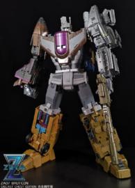 Zeta Toys ZA-07 Bruticon Metallic Die-cast Chest  Edition - Pre order