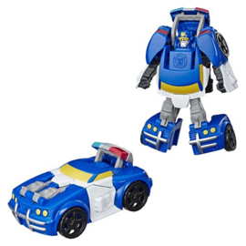 Transformers Rescue Bots Academy Police Car Chase