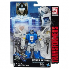 Titans Return Deluxe Highbrow
