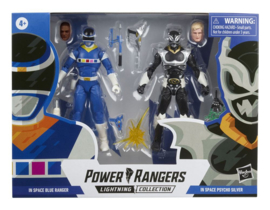 Power Rangers LC AF In Space Blue Ranger vs. Psycho Silver - Pre order