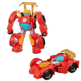 Transformers Rescue Bots Academy Hot Shot F1