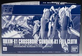 P-Bandai: 1/144 HG Crossbone Gundam X1 Full Cloth