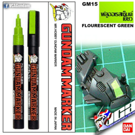 Gundam Marker GM-15 Flourescent Green Marker