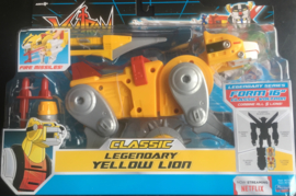 Voltron Classic Yellow Lion Combinable Action Figure