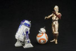 Star Wars ARTFX+ PVC Statue 1/10 R2-D2, C-3PO & BB-8 - Pre order