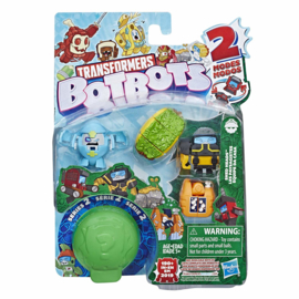 Hasbro Botbots Serie 2 Shed Heads C [set of 5]
