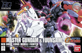 1/144 HGFC GF13-001NHII Master Gundam & Fuunsaiki