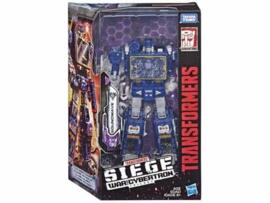 Hasbro WFC Siege Voyager Soundwave