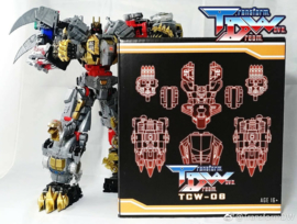 Transform Dream Wave TCW-06 Dinoking Upgrade Set