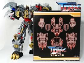 Transform Dream Wave TCW-06 Dinoking Upgrade Set