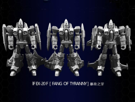 Iron Factory IF-EX20F Fang of Tyranny Set